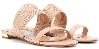 Aquazzura Rendez Vous leather sandals
