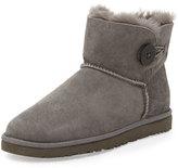 UGG Bailey Button Short Boot, Gray