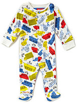 Joules Baby Boys Newborn-12 Months Ziggy Car-Print Footed Coverall