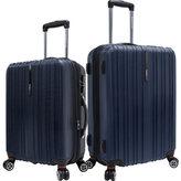 Traveler's Choice Tasmania 2 Piece Spinner Luggage