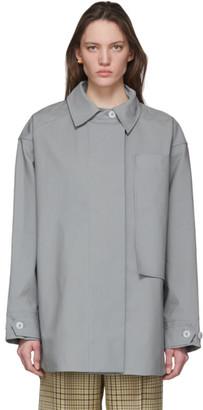 Jacquemus Grey Le Manteau Camiseto Jacket
