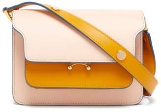 Marni Trunk Mini Leather Cross-body Bag - Womens - Pink Multi