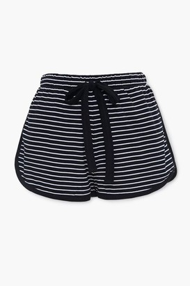 Forever 21 Striped Dolphin Lounge Shorts