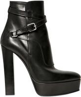 Saint Laurent 140mm Ziggy Calfskin Low Boots