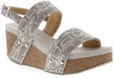 Volatile Women's Sandals GREY - Gray Judie Cork Wedge - Women