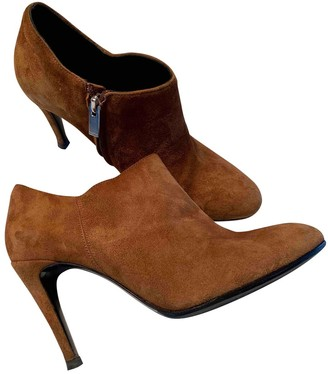 The Kooples Camel Suede Boots