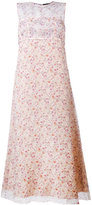 Calvin Klein floral printed dress - women - Silk - 40