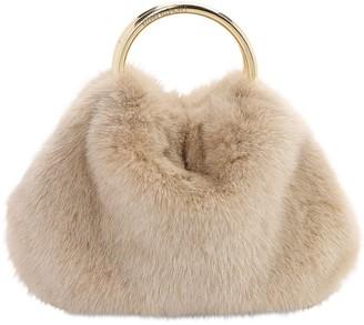 Simonetta Ravizza Furissima Puff Mink Bag