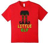 Kids Family Christmas Shirts Little Elf Family Matching Set 6