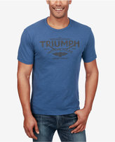Lucky Brand Men's Triumph Motorcycles Logo Cotton T-Shirt