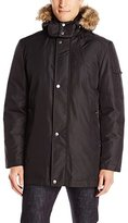 Buffalo David Bitton Buffalo by David Bitton Men's Dobby Tech Parka