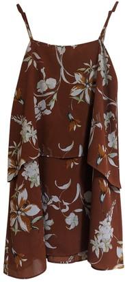 MANGO Orange Dress for Women