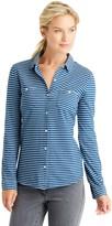 J.Mclaughlin Carrow Shirt in Stripe