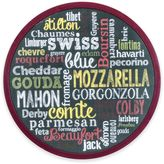 Boston Warehouse Cheese Words 12-Inch Lazy Susan