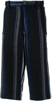 Sacai Mexican stripe trousers - men - Cotton/Rayon - 2