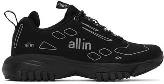 all in Black Rex Sneakers