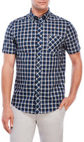 Ben Sherman Short Sleeve Check Button-Down Shirt