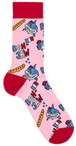 Topman Jaws Shark Socks