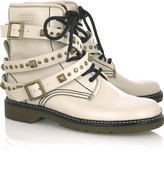 See by Chloé Studded leather ankle boots
