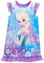 AME Frozen Fever Elsa Nightgown (Little Girls & Big Girls)