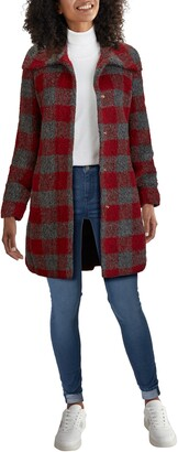 Cole Haan Check Coat