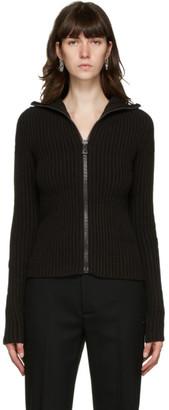 Bottega Veneta Black Wool Cardigan