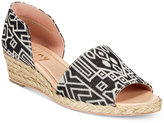 French Sole Rapture Espadrille Wedge Sandals