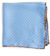 Paul Smith Men's Pindot Silk Pocket Square