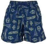 Sunuva Blueprint UPF 50+ Swim Shorts