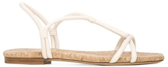 Vince Hazen Flat Leather Sandals