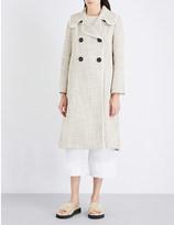 See by Chloe Tweed trench coat