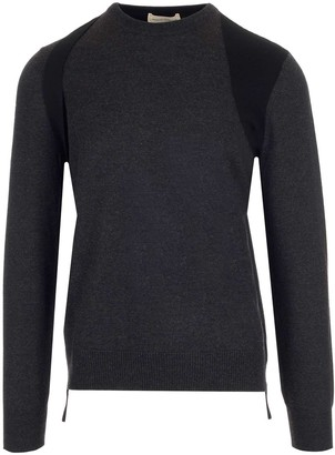 Alexander McQueen Paneled Knitted Sweater