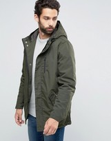 ONLY & SONS Quilted Parka with Fishtail