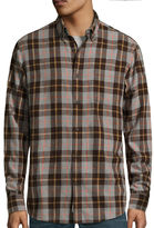 ST. JOHN'S BAY St. John's Bay Long-Sleeve Classic-Fit Flannel Shirt