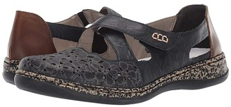 Rieker 463H4-14 (Pazifik/Mogano) Women's Shoes