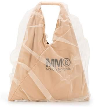 MM6 MAISON MARGIELA Japanese tulle tote bag