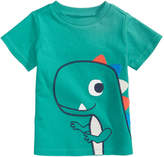 First Impressions Dinosaur-Print Cotton T-Shirt, Baby Boys, Created for Macy's