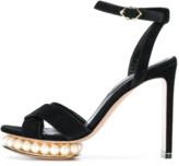 Nicholas Kirkwood Casati Pearl Platform Sandal in Black