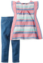 Carter's 2-Piece Top & Jegging Set