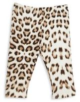 Cavalli Infant Girl's Leopard Print Leggings