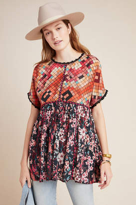 Bl Nk Sidonie Embroidered Swing Tunic