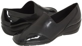 Walking Cradles Johanna (Black Stretch/Patent) - Footwear