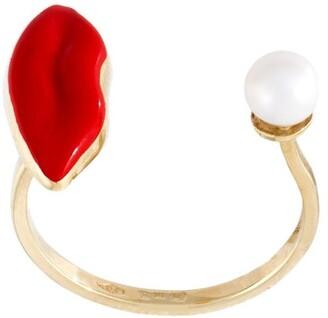 Delfina Delettrez 'Lips piercing' ring