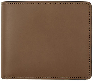 Maison Margiela Brown Leather Bifold Wallet