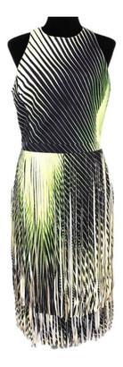 Tamara Mellon Green Leather Dresses