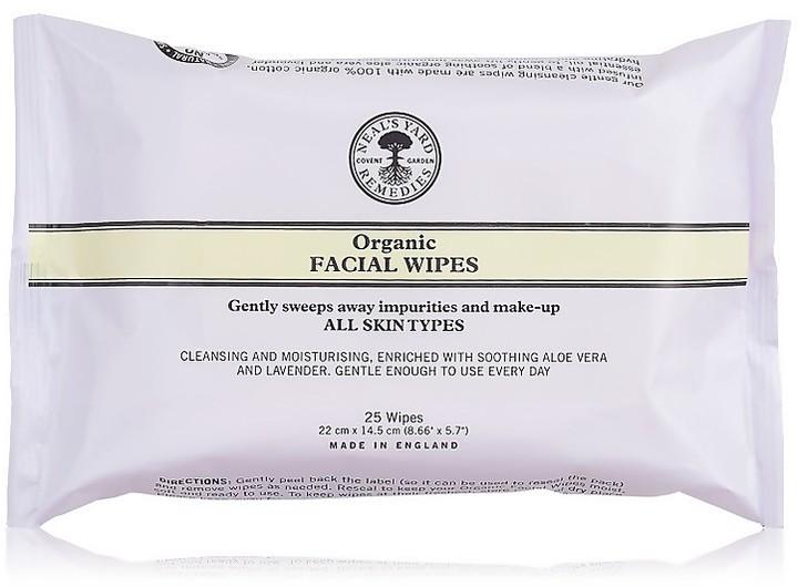 Neal's Yard Remedies Organic Facial Wipes 25pk