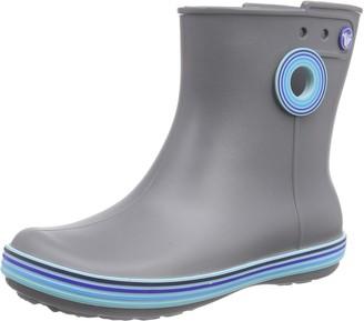 Crocs Women's Jaunt Stripes Shorty Boot Warm Lining Rain