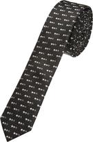 Oxford Silk Tie Zigzag