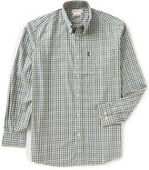 Beretta Non-Iron Drip-Dry Classic Check Long-Sleeve Shirt
