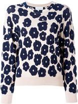 Christian Wijnants 'Katana' jumper - women - Cotton/Polyamide/Polyester/Viscose - XS
